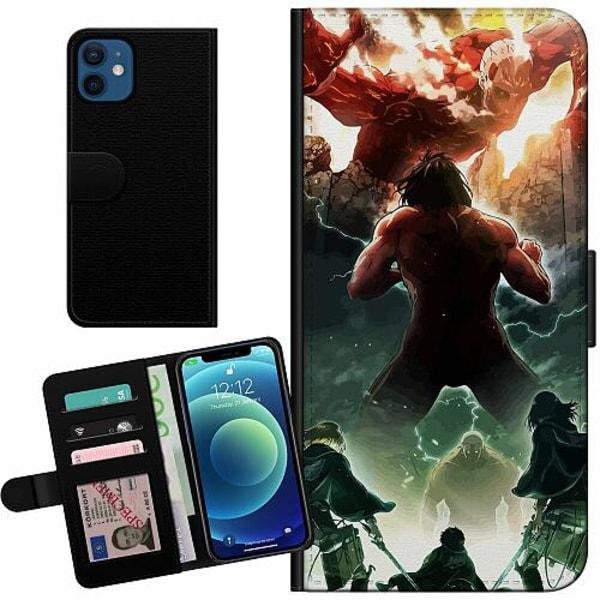 Apple iPhone 12 mini Billigt Fodral Attack On Titan