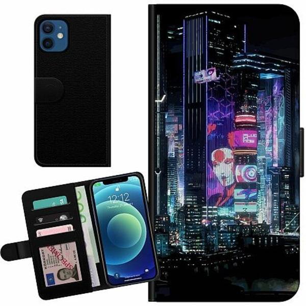 Apple iPhone 12 mini Billigt Fodral Cyberpunk 2077