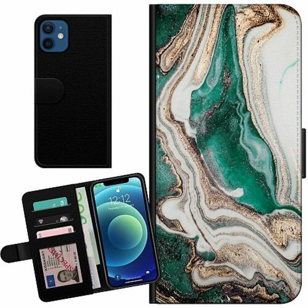 Apple iPhone 12 mini Billigt Fodral Grön
