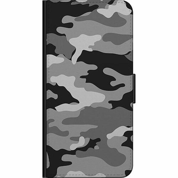 Huawei Y6 (2019) Billigt Fodral Military B/W