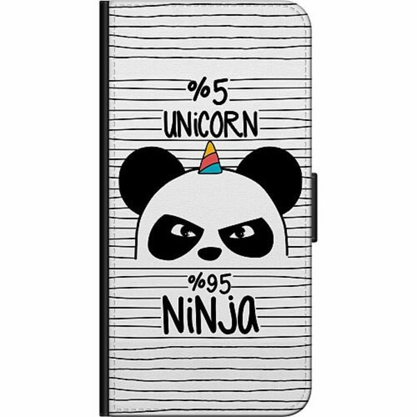 Samsung Galaxy A20e Billigt Fodral Ninja Panda With A Twist