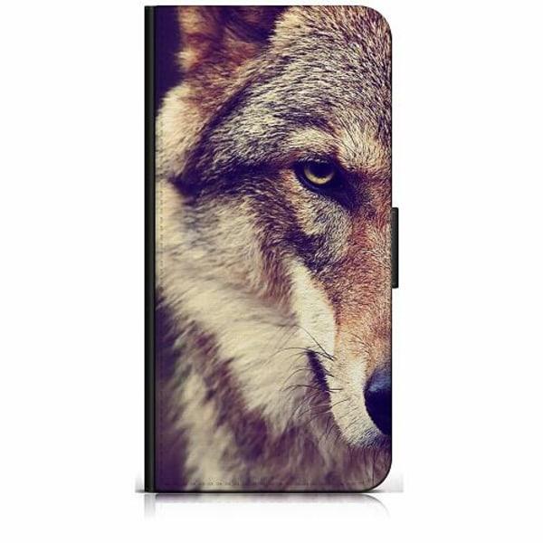 Huawei Y6 (2018) Plånboksfodral Wolf / Varg