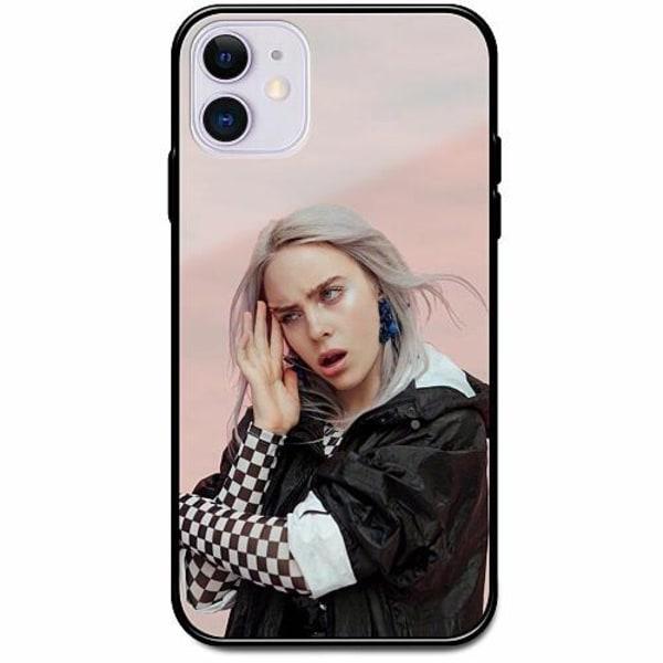 Apple iPhone 12 Svart Mobilskal med Glas Billie Eilish 2021