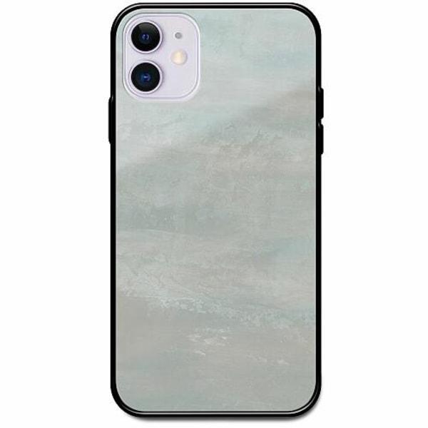 Apple iPhone 12 Svart Mobilskal med Glas Icy Scapes