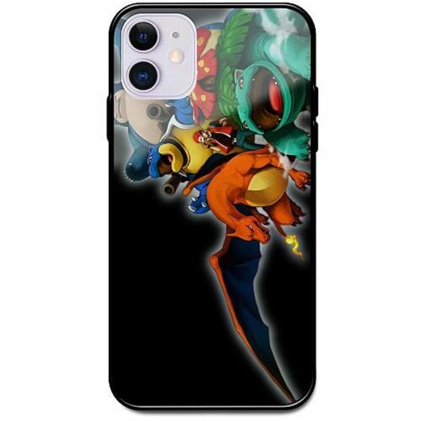 Apple iPhone 12 Svart Mobilskal med Glas Pokemon