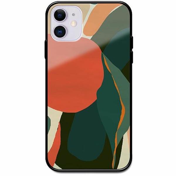 Apple iPhone 12 Svart Mobilskal med Glas Retro x300