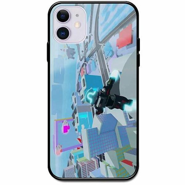 Apple iPhone 12 Svart Mobilskal med Glas Roblox