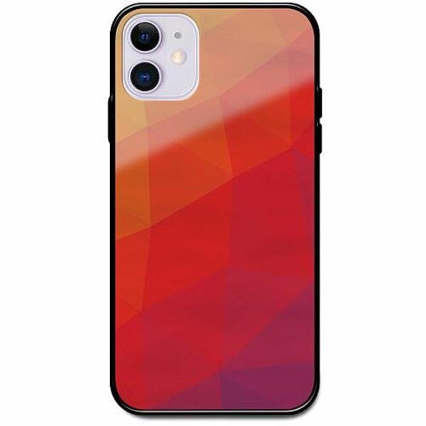Apple iPhone 12 Svart Mobilskal med Glas Warmer Still
