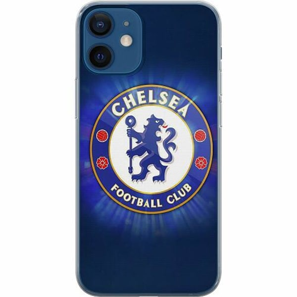 Apple iPhone 12 mini Thin Case Chelsea Football