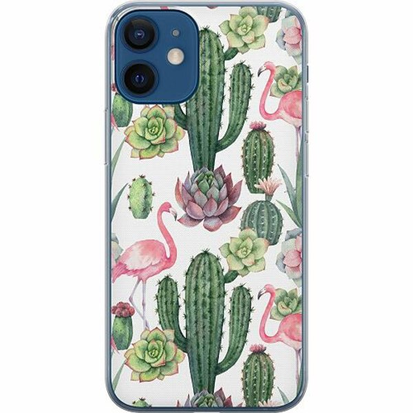 Apple iPhone 12 mini Mjukt skal - Kaktus