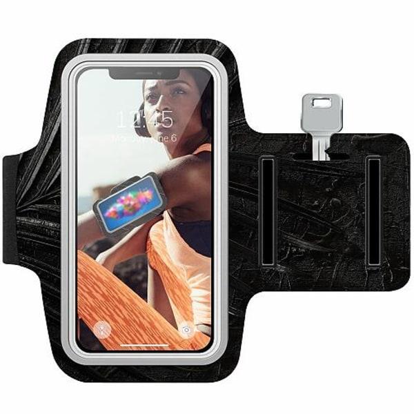 Nokia 7 Plus Träningsarmband / Sportarmband -  Charcoal Ash