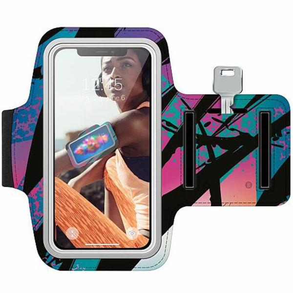 Nokia 7 Plus Träningsarmband / Sportarmband -  Hawaii Retro