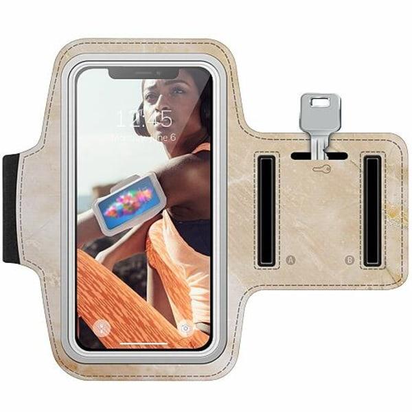 Nokia 7 Plus Träningsarmband / Sportarmband -  More Marble