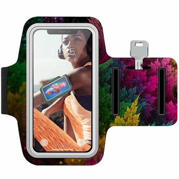 Sony Xperia L1 Träningsarmband / Sportarmband -  Pixel Forest