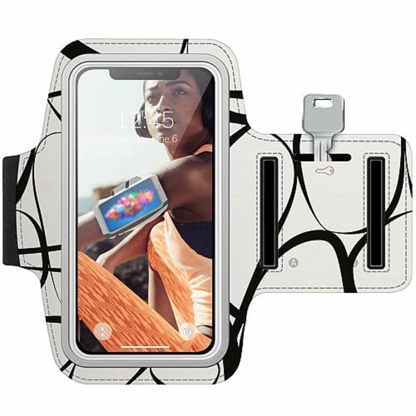 Apple iPhone X / XS Träningsarmband / Sportarmband -  Transistor