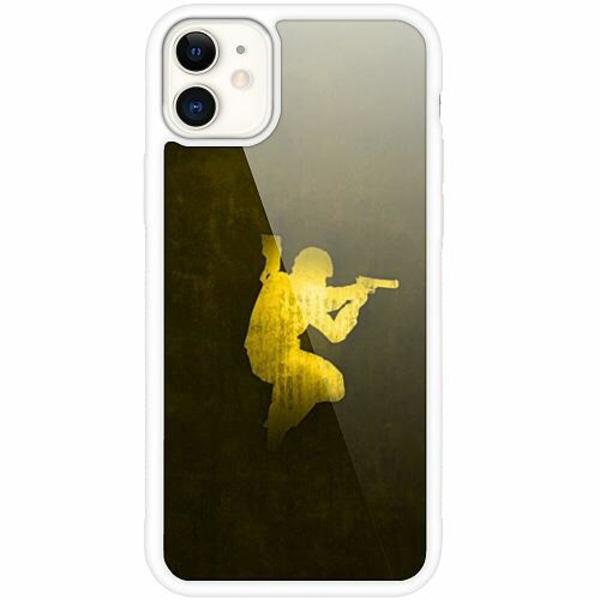 Apple iPhone 12 mini Vitt Mobilskal med Glas CS