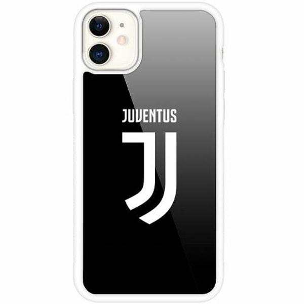 Apple iPhone 12 mini Vitt Mobilskal med Glas Juventus
