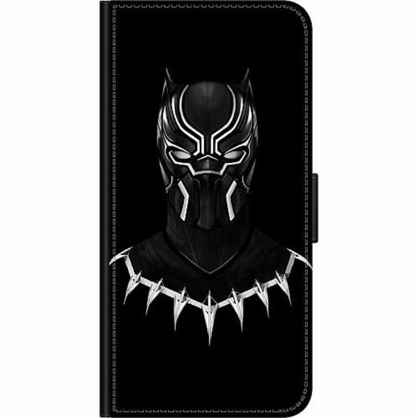 Apple iPhone XR Wallet Case Black Panther