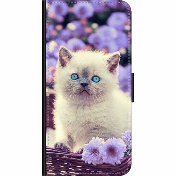 Samsung Galaxy S20 Wallet Case Cute Kitten
