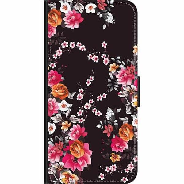 Apple iPhone XR Wallet Case Flower Splash