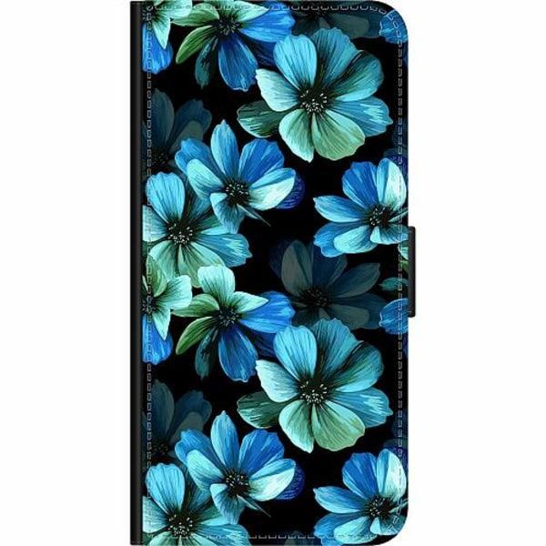 Apple iPhone XR Wallet Case Midnight Garden