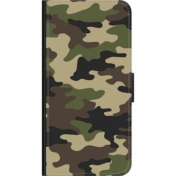 Samsung Galaxy A10 Wallet Case Woodland Camo
