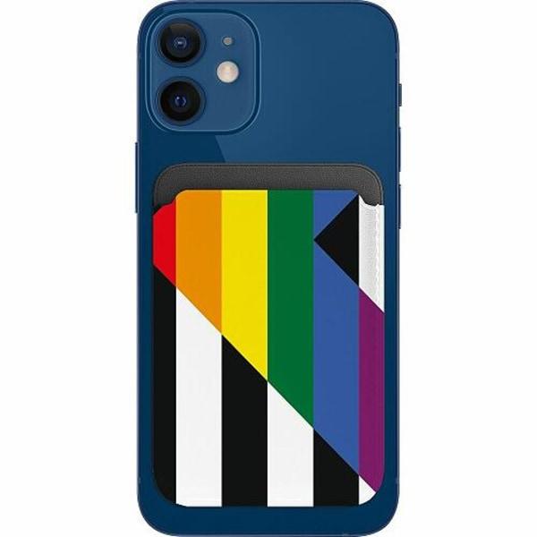 Apple iPhone 12 Plånbok med MagSafe -  Pride - Straight Ally