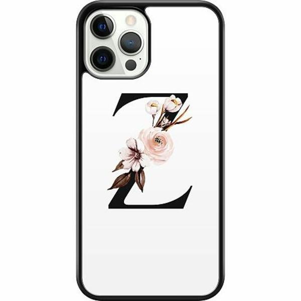 Apple iPhone 12 Pro Hard Case (Svart) Bokstäver