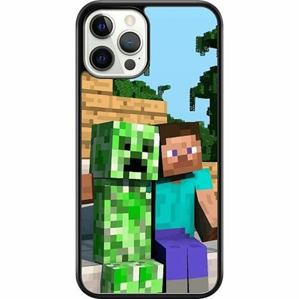 Apple iPhone 12 Pro Hard Case (Svart) MineCraft