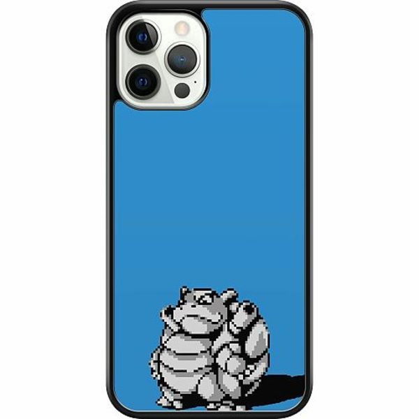 Apple iPhone 12 Pro Hard Case (Svart) Pixel art Pokémon