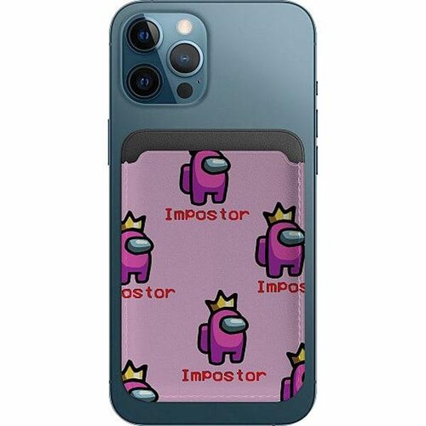 Apple iPhone 12 Pro Korthållare med MagSafe -  Among Us