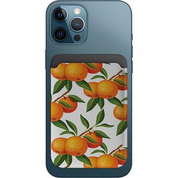 Apple iPhone 12 Pro Korthållare med MagSafe -  Apelsin