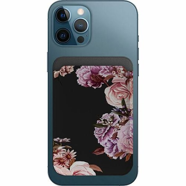 Apple iPhone 12 Pro Korthållare med MagSafe -  Blommor