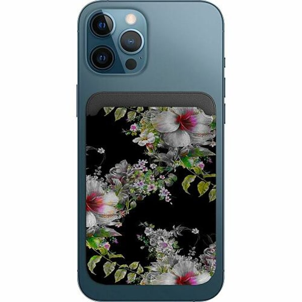Apple iPhone 12 Pro Korthållare med MagSafe -  Flower star