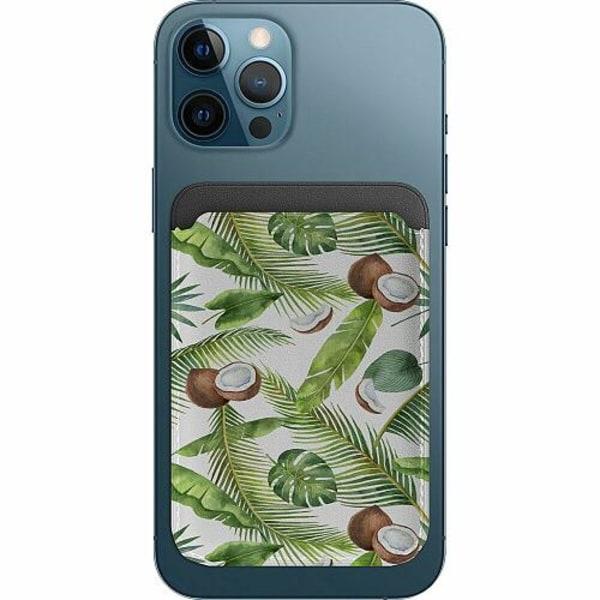 Apple iPhone 12 Pro Korthållare med MagSafe -  Kokosnöt