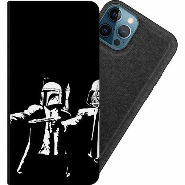 Apple iPhone 12 Pro Magnetic Wallet Case Star Wars