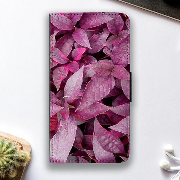 Sony Xperia L3 Fodralskal Pink Shrubs