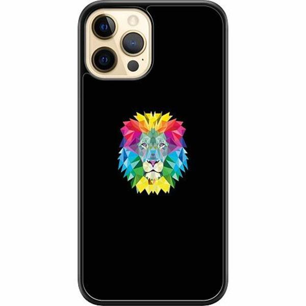 Apple iPhone 12 Pro Max Hard Case (Svart) Lion