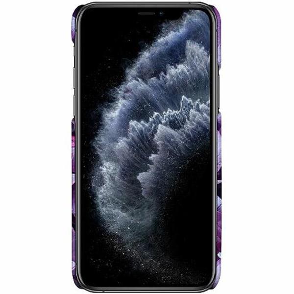 Apple iPhone 12 Pro Max LUX Mobilskal (Matt) Purple Shrubs