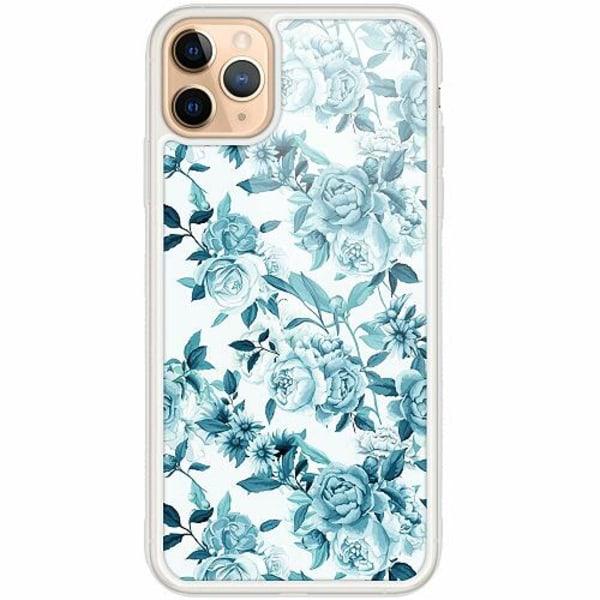 Apple iPhone 12 Pro Transparent Mobilskal med Glas Minty