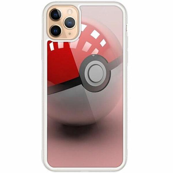 Apple iPhone 12 Pro Transparent Mobilskal med Glas Pokemon