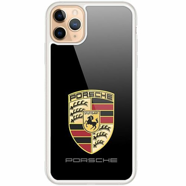 Apple iPhone 12 Pro Transparent Mobilskal med Glas Porsche