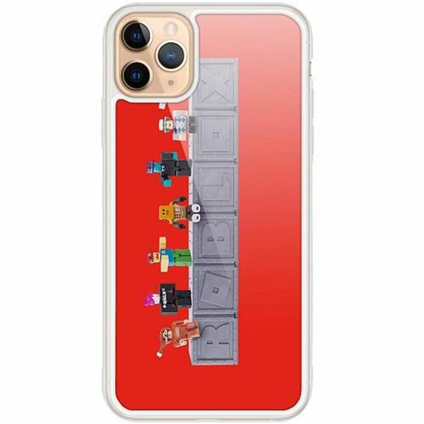 Apple iPhone 12 Pro Transparent Mobilskal med Glas Roblox