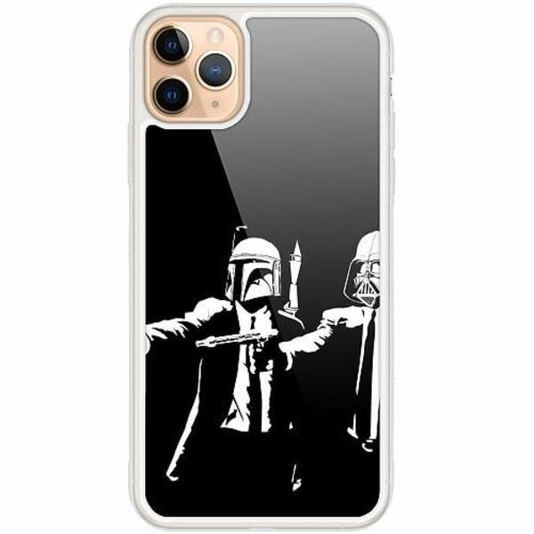 Apple iPhone 12 Pro Transparent Mobilskal med Glas Star Wars