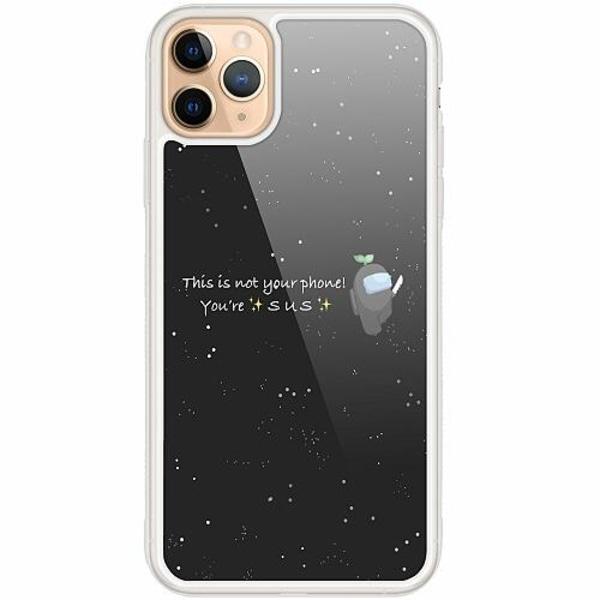 Apple iPhone 12 Pro Transparent Mobilskal med Glas Among Us 2021
