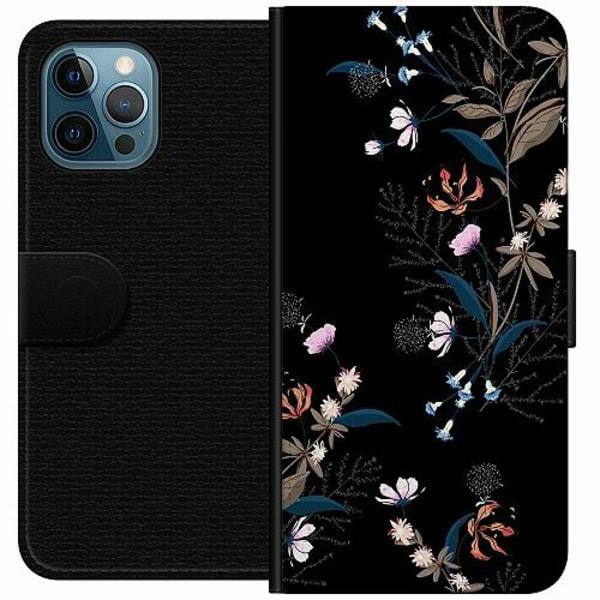 Apple iPhone 12 Pro Wallet Case Blommor