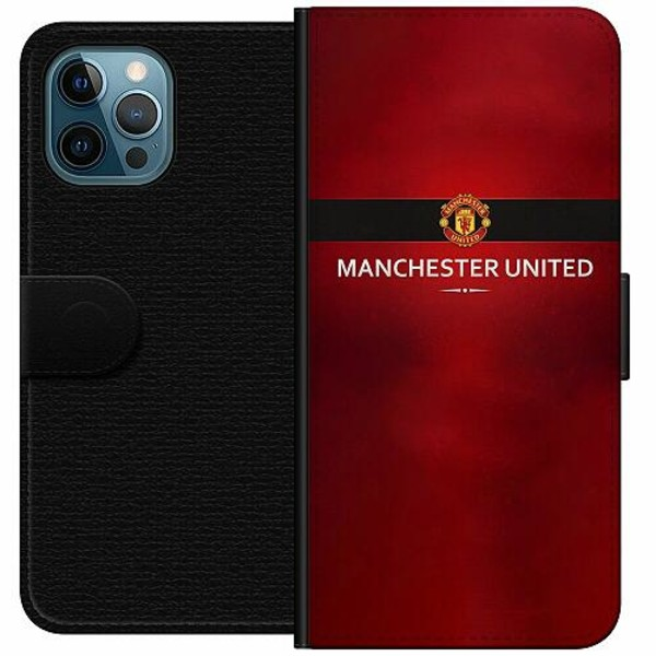 Apple iPhone 12 Pro Wallet Case Manchester United