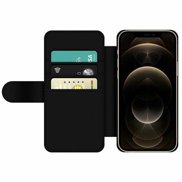 Apple iPhone 12 Pro Wallet Slim Case Blommor