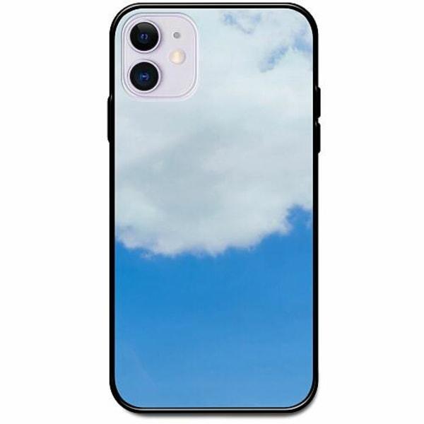 Apple iPhone 12 Svart Mobilskal med Glas Cloud Is Named Louis