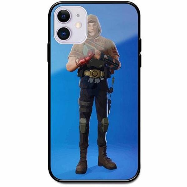 Apple iPhone 12 Svart Mobilskal med Glas Fortnite 2021